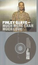 CD--FINLEY QUAYE--MUCH MORE THAN MUCH LOVE--PROMO