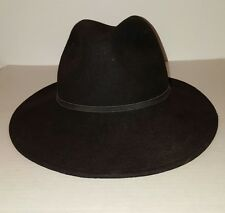 TOP SHOP BLACK BRIMMED HAT