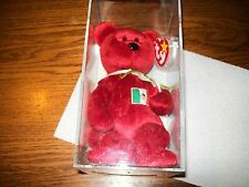 Authentic TY Beanie Babies Osito Mexican Bear NWT  & In Protective Case