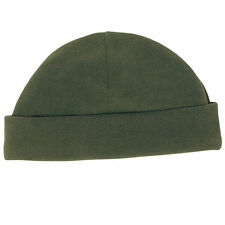 Bonnet vert / kaki commando en fibres polaire Neuf