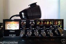 Galaxy DX959 CB Radio AM SSB *PEAKED TO LEGAL LIMIIT *ECHO SOUND BOARD - MOSFET