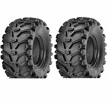 Set of 2 KENDA K299 Bear Claw 24X11X10 Rear ATV Tires 24 11 10