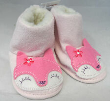 F&F Baby Girls Boots Booties Pink Box7309 B