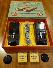 Rare boy scout s.o.s twin signaler set in original box