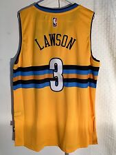 Adidas Swingman 2015-16 NBA Jersey Denver Nuggets Ty Lawson Gold sz L