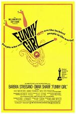 FUNNY GIRL Movie POSTER 27x40 Barbra Streisand Omar Sharif Walter Pidgeon Kay