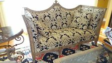 sofa Erwin Lambeth Designer Gold black tall down feathers