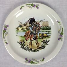 CHURCHILL HOTEL WARE SUPER VITRIFIED DECORATED SCOTLAND PLATE MADE IN ENGLAND
