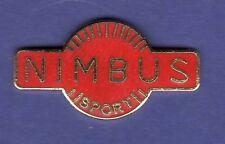 NIMBUS MOTORCYCLE HAT PIN LAPEL PIN TIE TAC ENAMEL BADGE #2166