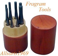 8 Piece Pin Punch Set in Wooden Case Quality Set from FRAGRAM TOOLS