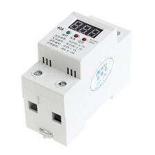 Over Under Voltage Protection Automatic Reconnect  Relay Voltmeter Led Display