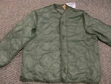 NEW with tag USMC US Army Large M-65 Field Jacket Liner green quilted