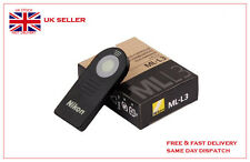 Ml-l3 mll3 Wireless Remote per Nikon d610 d5300 d5200 d3200 d90 d7100 j1 v2 UK