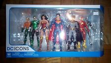 Dc Icons Justice League 7 pack Action Figures