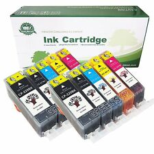 10 PACK PGI-220 CLI-221 Ink Tank for Canon Printer Pixma MP560 MX860 MX870