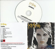 KESHA Animal UK 14-trk watermarked promo test CD Ke$ha