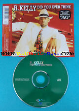 CD Singolo R. Kelly Did You Ever Think 0523612 EUROPE 1999 no mc lp(S24)