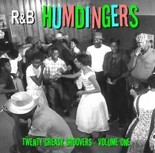 R&B HUMDINGERS VOL 1 - RARE DANCE FLOOR GROOVERS FROM THE 50's & 60's - LISTEN!