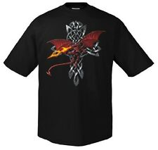 SKULL / ALCHEMY / FUN - Celtic Dragon - T-Shirt - Größe Size XXXXL 4XL Drachen