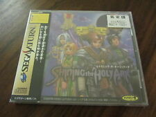SHINING THE HOLY ARK     --  T-33101G     --   SEGA SATURN / JAP.  NEUF -NEW
