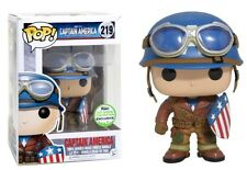 Funko Pop! Marvel - CAPTAIN AMERICA ECCC 2017 (EXCLUSIVE) UK SELLER IN HAND