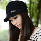 Women Lady Winter Warm Knitted Crochet Slouch Baggy Beanie Hat Cap casual black