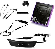 Genuine Sony SBH-80 Stereo Bluetooth Earphones Headset Black Z5 Z4 X Z3 Compact