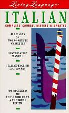 Living Language: Italian,The Complete Course, Revised & Updated (Cassettes, Con