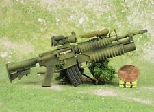 1:6 Scale Action Figure MODERN FIREARM M4A1 RIFLE + GRENADE LAUNCHER M203 G13