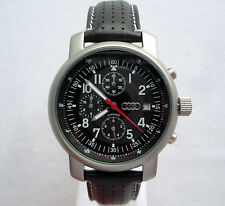 Audi Classic Colection Business Elegant Sport Racing Design Chronograph Watch