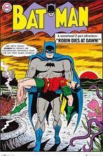 Poster BATMAN - Robin Dies At Dawn Cover -  DC Comics ca60x90 NEU 58559