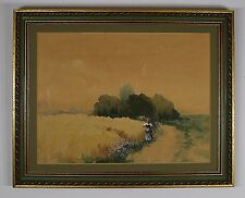 LESZLO NEOGRADY (HUNGARIAN 1900-1962) ORIGINAL SIGNED WATERCOLOR PAINTING