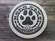 Beer COASTER ~ BEER PAWS Dog Paraphanalia: Collar, Shirts, Candles, Doggie Brew+