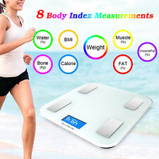 Bluetooth Body Fat Monitor Composition Smart Scale Weight Electronic IOS Android
