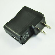 AC 110V-240V to DC 5V 500mA USB to 2 Pin US Plug Power Adapter Charger Xmas N3