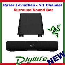 Razer Leviathan - 5.1 Channel Gaming Surround Sound Bar Speakers with Subwoofer