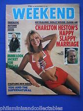 Weekend Magazine - Charlton Heston, Brian Clough     9th Sep 1981