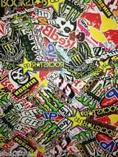 STICKERS BOMBERS AUTOCOLLANT 100 X 100CM KIT DECO MOTO CROSS DIRT KX YZ CR YZF