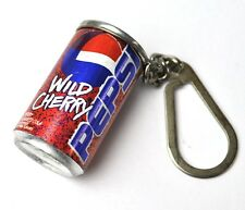 Pepsi Cola Wild Cherry mini Dose Schlüsselanhänger Can Key Chain USA 1998