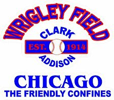 Wrigley Field Skins Cornhole Chaicago Cubs DECALS Bean Bag Toss Game Stickers