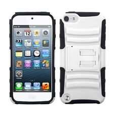 White/Black Advanced Armor Stand Case For APPLE iPod touch 6th 5th generation