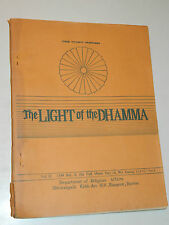 THE LIGHT OF THE DHAMMA rangoon BURMA birmanie teachings of the Buddha KAMMA ven