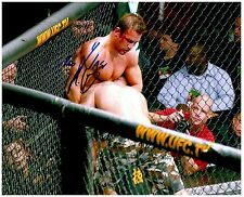 PHIL BARONI Signed Autographed UFC MMA 8X10 PIC. B