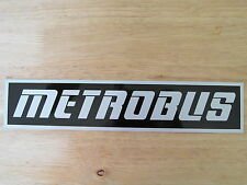 MCW METROBUS LONDON WEST MIDLANDS PTE MANCHESTER BUS BONNET BADGE DECAL STICKER