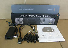Blackmagic design atem 1 m/e professional studio production switcher swatem 1ME