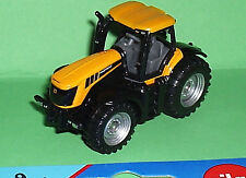 Yellow JCB Fastrac Tractor Matchbox sized 1:64 scale Model Siku toy Mint on Card