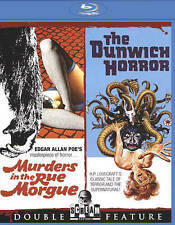 Murders in the Rue Morgue/The Dunwich Horror - NEW Blu-ray double feature