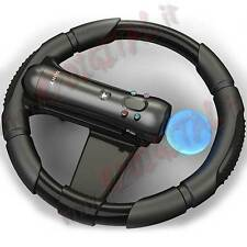 VOLANTE per SONY PLAYSTATION 3 MOVE PS3 STERZO DI GUIDA CONSOLE SPORT WHEEL