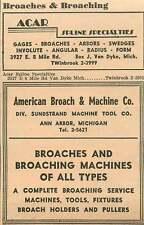 1946 Acar Spline Specialties E 8 Mile Rd Twinbrook Ad