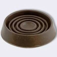 "NEW SHEPHERD 9077 PK (4) 1 3/4"" FURNITURE RUBBER BROWN CASTER CUPS 6605067"